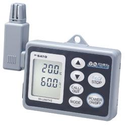 数据记录器内存温度和湿度SK-L200THIIα(alpha)主体(8175-00),集成m6米乐下载(8176-00)设置