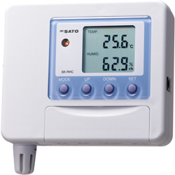 温度/湿度转换器SK-RHC-V(电压0至100 mV输出)显示(不包括m6米乐下载)