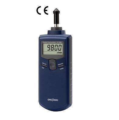 日本小野测器接触式数字转速表HT-3200