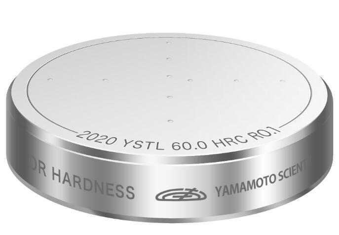 山本科学YSTL金属硬度标准块HRC30/HRC45/HRC55/HRC60